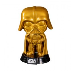Figurine Pop Star Wars Darth Vader Gold Metallic Edition Limitée Funko Boutique Geneve Suisse