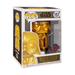 Figur Pop Star Wars Darth Vader Gold Metallic Limited Edition Funko Geneva Store Switzerland