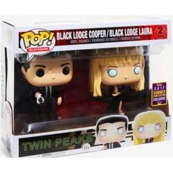 Figur Pop SDCC 2017 Twin Peaks Black Lodge Cooper and Laura 2-pack Funko Geneva Store Switzerland