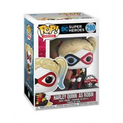 Figurine Pop Batman Harley Quinn as Robin Edition Limitée Funko Boutique Geneve Suisse