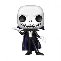 Figurine Pop Metallic The Nightmare Before Christmas Jack Vampire Edition Limitée Funko Boutique Geneve Suisse