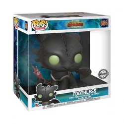 Figurine Pop 25 cm How to Train Your Dragon 3 The Hidden World Toothless Edition Limitée Funko Boutique Geneve Suisse