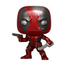 Figur Pop Marvel Deadpool First Appearance Metallic Limited Edition Funko Geneva Store Switzerland