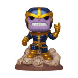 Figurine Pop 15 cm Marvel Thanos Infinity Saga Metallic Edition Limitée Funko Boutique Geneve Suisse
