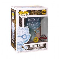 Figurine Pop Game of Thrones Phosphorescent Crystal Night King with Dagger Edition Limitée Funko Boutique Geneve Suisse