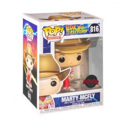 Figurine Pop Back to the Future Marty McFly Cowboy Edition Limitée Funko Boutique Geneve Suisse