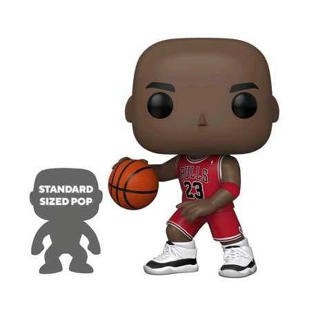 Figur Pop 25 cm Basketball NBA Bulls Michael Jordan Red Jersey Funko Geneva Store Switzerland