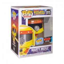 Figurine Pop NYCC Back to the Future Marty McFly in Hazmat Edition Limitée Funko Boutique Geneve Suisse