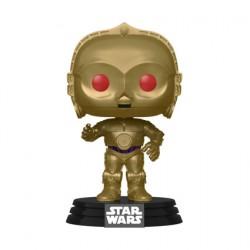 Figurine Pop Star Wars The Rise of Skywalker Red Eyes C-3PO Funko Boutique Geneve Suisse