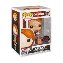 Figurine Pop Chucky with Buddy and Scissors Edition Limitée Funko Boutique Geneve Suisse