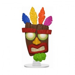 Figuren Pop Games Crash Bandicoot Aku Aku Funko Genf Shop Schweiz