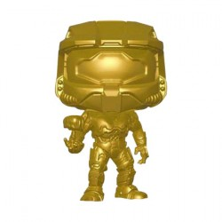 Figurine Pop Halo Master Chief with Cortana Metallic Gold Edition Limitée Funko Boutique Geneve Suisse