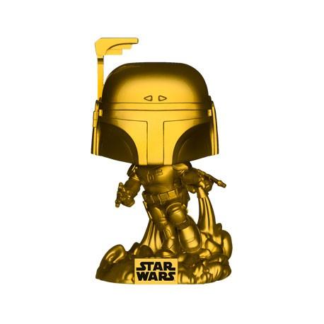 Figur Pop Star Wars Jango Fett Metallic Gold Limited Edition Funko Geneva Store Switzerland