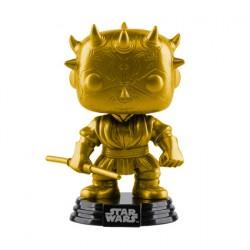 Figurine Pop Star Wars Darth Maul Metallic Gold Edition Limitée Funko Boutique Geneve Suisse