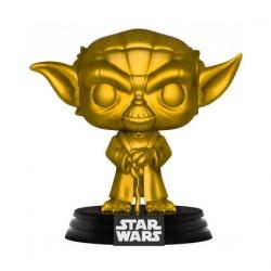 Figurine Pop Star Wars Yoda Metallic Gold Edition Limitée Funko Boutique Geneve Suisse