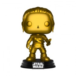 Figuren Pop Star Wars Rey Metallic Gold Limitierte Auflage Funko Genf Shop Schweiz