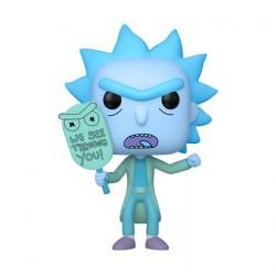 Figur Pop Phosphorescent Rick et Morty Hologram Rick See You Limited Edition Funko Geneva Store Switzerland