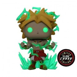 Figurine Pop 15 cm Phosphorescent Dragon Ball Z Super Saiyan 2 Broly Chase Edition Limitée Funko Boutique Geneve Suisse
