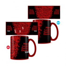 Figur Stranger Things R U N Heat Change Mug Pyramid International Geneva Store Switzerland