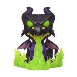 Figuren Pop 15 cm Phosphorescent Disney Maleficent as Dragon with Flames Metallic Limitierte Auflage Funko Genf Shop Schweiz