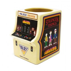 Figur Stranger Things Mug Palace Arcade Machine Pyramid International Geneva Store Switzerland