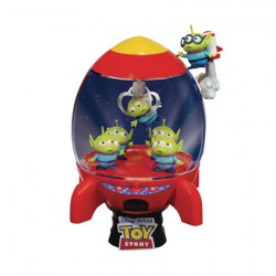 Figurine Disney Select Toy Story D-Stage Alien's Rocket Diorama Beast Kingdom Boutique Geneve Suisse