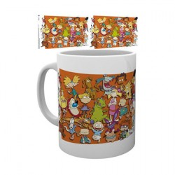 Figurine Tasse Nickelodeon 90's Compilation GB eye Boutique Geneve Suisse