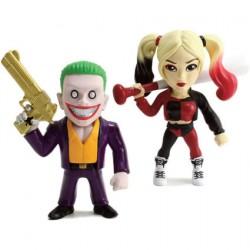 Figurine Suicide Squad Joker et Harley Quinn 2-Pack Metals figur Diecast Jada Toys Boutique Geneve Suisse