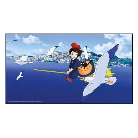 Figurine Tableau Bois Kiki la Petite Sorcière Semic - Studio Ghibli Boutique Geneve Suisse