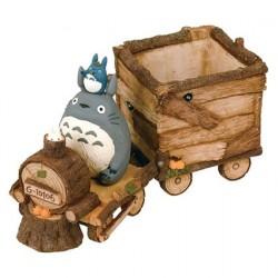 Figuren Studio Ghibli Totoro Train Flower Pot Semic - Studio Ghibli Genf Shop Schweiz