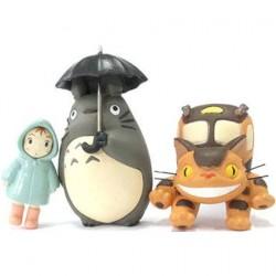Figuren Studio Ghibli Totoro Rain Magnets Pack Semic - Studio Ghibli Genf Shop Schweiz