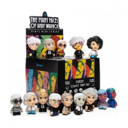 Figur Many Faces of Andy Warhol by Kidrobot Kidrobot Geneva Store Switzerland