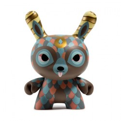 Figurine Dunny 12.5 cm The Curly Horned Dunnylope par Horrible Adorables Kidrobot Boutique Geneve Suisse