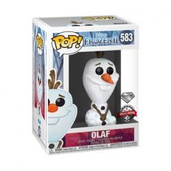 Figurine Pop Diamond Disney Frozen II Olaf Glitter Edition Limitée Funko Boutique Geneve Suisse