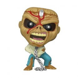 Figurine Pop Rocks Iron Maiden Piece of Mind Skeleton Eddie (Rare) Funko Boutique Geneve Suisse
