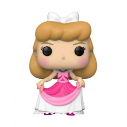 Figurine Pop Disney Cendrillon Cinderella in Pink Dress Funko Boutique Geneve Suisse