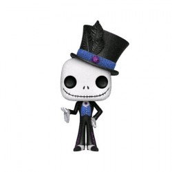 Figurine Pop Disney Diamond The Nightmare Before Christmas Dapper Jack Glitter Edition Limitée Funko Boutique Geneve Suisse
