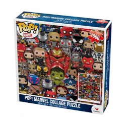 Figurine Pop Puzzle Collage Marvel (1000 Pièces) Funko Boutique Geneve Suisse