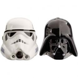 Figurine Salière et Poivrière Star Wars Darth Vader et Stormtrooper Casque Funko Boutique Geneve Suisse