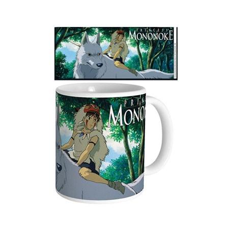 Figurine Tasse Studio Ghibli Princess Mononoke Semic - Studio Ghibli Boutique Geneve Suisse