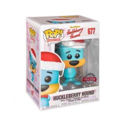 Figurine Pop Hanna Barbera Holiday Huckleberry Hound Edition Limitée Funko Boutique Geneve Suisse