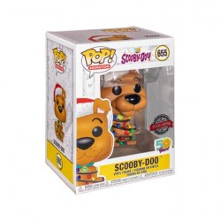 Figurine Pop Scooby-Doo with Christmas Lights Edition Limitée Funko Boutique Geneve Suisse