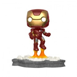 Figurine Pop Deluxe Marvel Iron Man Edition Limitée Funko Boutique Geneve Suisse