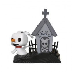 Figurine Pop 15 cm The Nightmare Before Christmas Zero in doghouse Edition Limitée Funko Boutique Geneve Suisse