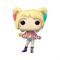 Figur Pop Birds of Prey Harley Quinn Caution Tape Jacket Funko Geneva Store Switzerland