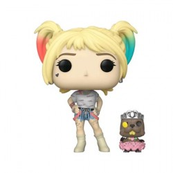 Figur Pop Birds of Prey Harley Quinn with Beaver Funko Geneva Store Switzerland