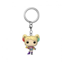 Figur Pop Pocket Keychains Birds of Prey Harley Caution Tape Funko Geneva Store Switzerland