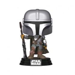 Figurine Pop Star Wars The Mandalorian Mandalorian Pose Metallic Funko Boutique Geneve Suisse