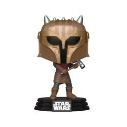 Figurine Pop Star Wars The Mandalorian The Armorer Metallic Funko Boutique Geneve Suisse