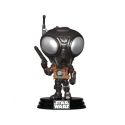 Figurine Pop Star Wars The Mandalorian Q9-Zero Funko Boutique Geneve Suisse